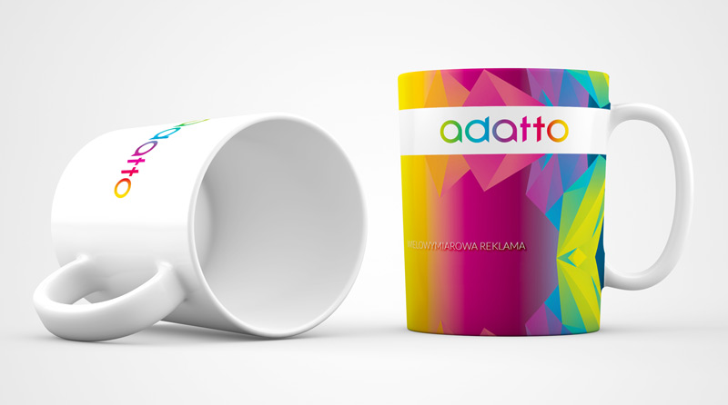 Kubek firmowy Adatto
