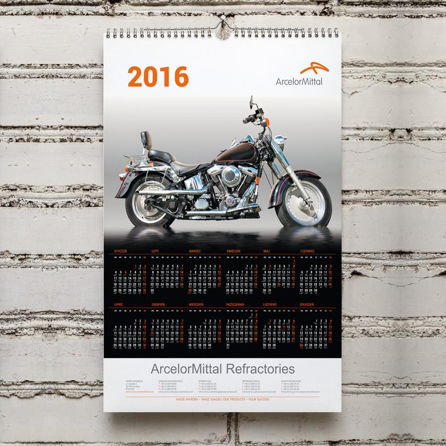 Kalendarz Arcelor MIttal