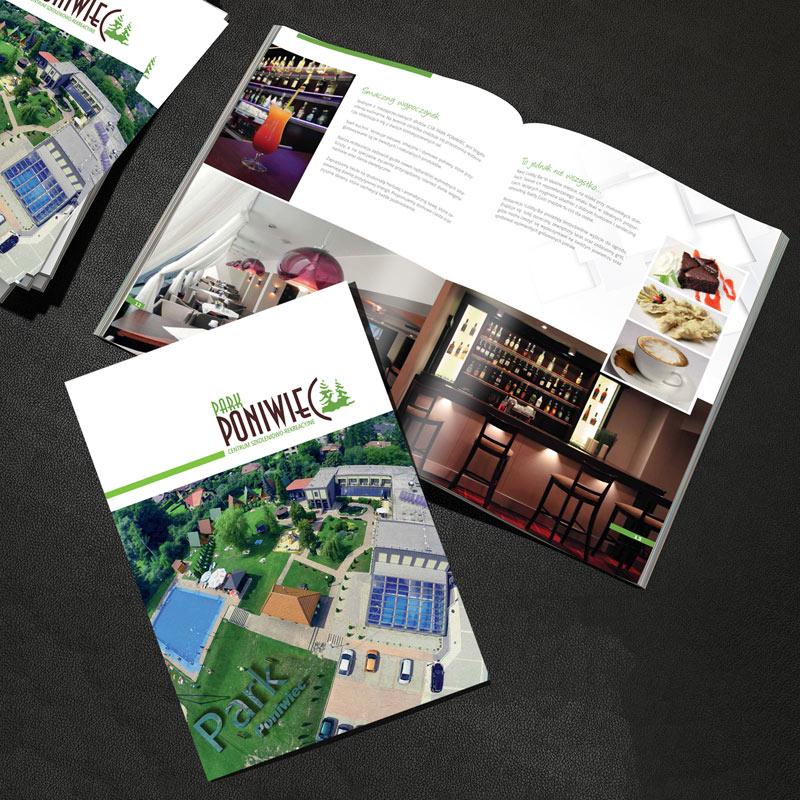 Folder reklamowy Poniwiec